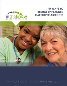 44 ways to reduce unplanned caregiver absences