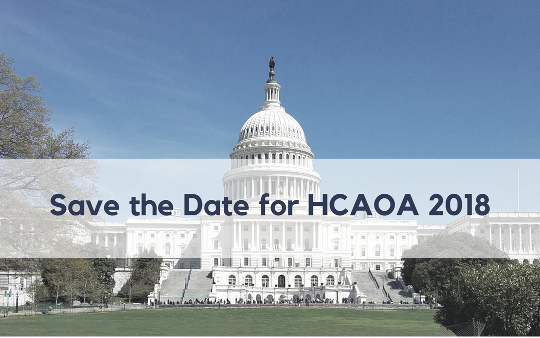We Can't Wait to See You at HCAOA 2018!