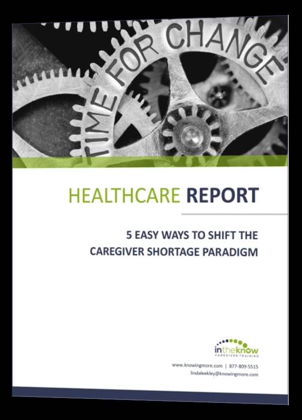 Caregiver Training Solution For Cnas Hhas And Nurse Aides E