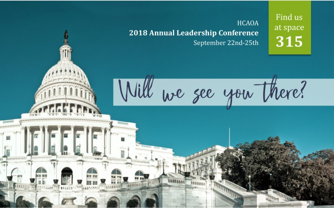It's Nearly Time for the HCAOA Leadership Conference