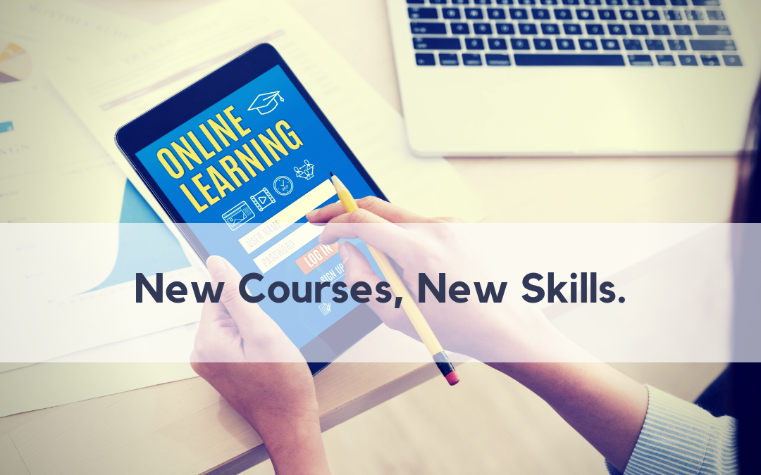 What's New? 16 Fresh E-Learning Courses!