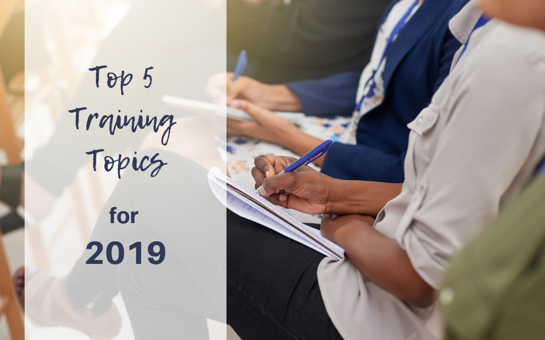 What's Trending? Top Training Topics for 2019