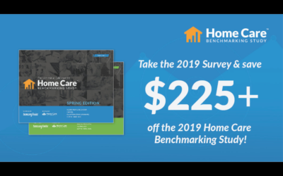 The 2019 Home Care Pulse Benchmarking Study is Open!