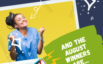 Cheers to the August Winners!