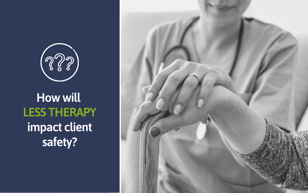 How do you keep clients safe and strong with LESS therapy?