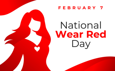 Did you get the memo? Wear red this Friday!